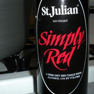 St. Julian Simply Red Wine