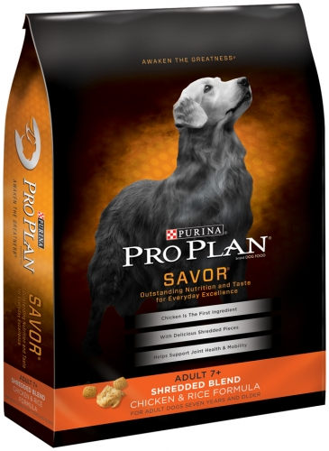 Pro Plan Shredded Blend 7+ Chicken/Rice Dog 6lb