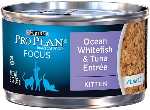 Pro Plan Ocean Whitefish & Tuna Entre for Kittens