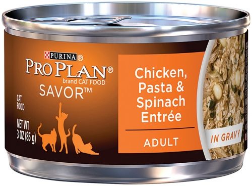 Pro Plan Chicken Pasta Spinach Can Cat 24/3 Oz