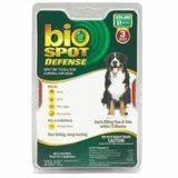 Bio Spot® Defense Flea & Tick Spot On® for Dogs Over 80 lbs. (3M SS) X-LARGE