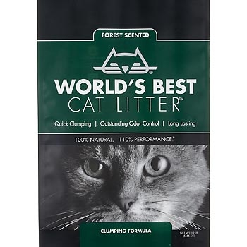 World's Best Cat Litter Clumping Forest Scented Formula  24lbs