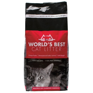 World's Best Multiple Cat Clumping Formula 5/7lb