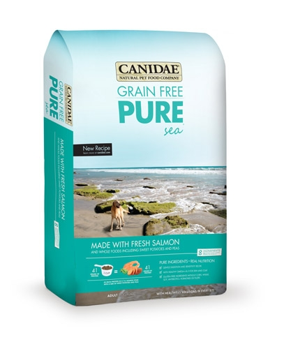 10% off 24# Bags Canidae Grain Free Pure Sea