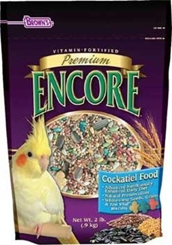 F.M. Brown's Encore Premium Cockatiel 6/2 lb. Case