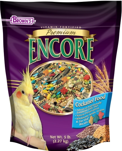 F.M. Brown's Encore Premium Cockatiel 6/5 lb. Case