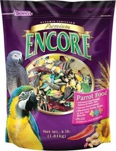 F.M. Brown's Encore Premium Parrot 6/4 lb. Case