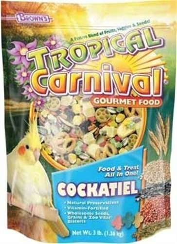 F.M. Brown's Tropical Carnival Cockatiel Food