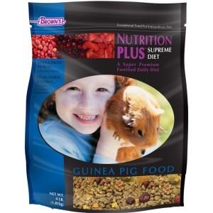 F.M. Brown's Nutrition Plus Supreme Guinea Pig Food 6/4 lb.
