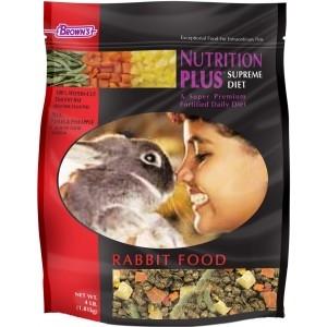 F.M. Brown's Nutrition Plus Supreme Rabbit Food 6/4 lb.