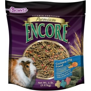 F.M. Brown's Encore Premium Guinea Pig Food 6/5 lb. Case