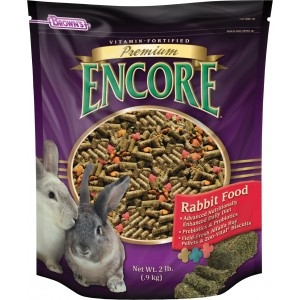 F.M. Brown's Encore Premium Rabbit Food 6/5 lb. Case