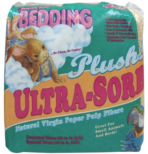 F.M. Brown's Ultra-sorb Plus Press Packed Bedding 6/250 Cubic Inches