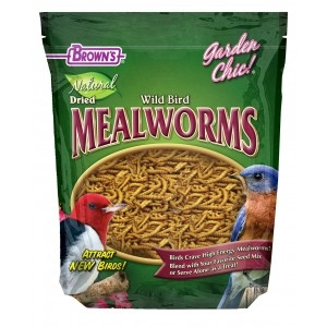 F.M. Brown's Tub Of Fixins Mealworms 4/7 oz.