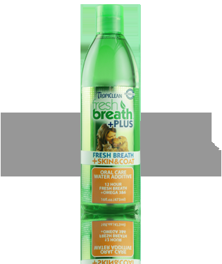 Fresh Breath Water Additive Plus Skin & Coat