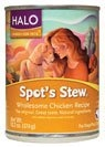 Halo Spot's Stew Wholesome Chicken Dog Food