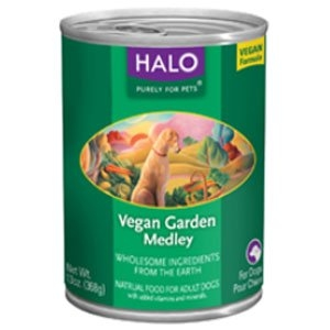 Halo, Purely for Pets Vegan Garden Medley Recipe for Dogs  12/13.0 oz