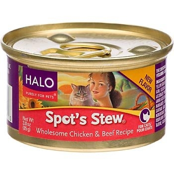 Halo Spot's Stew® for Cats, Wholesome Chicken and Beef Recipe