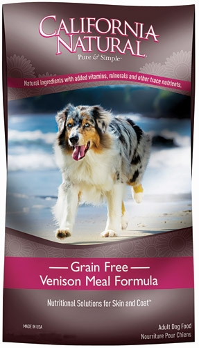 California Naturals Grain Free Venison & Green Lentils Formula Adult Dog Food