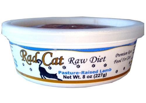 Radcat Raw Diet Pasture Raised Lamb 8Oz