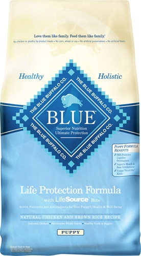 Blue Buffalo Chicken/Brown Rice Puppy 6# C=5