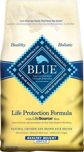 Blue Buffalo Healthy Weight Chicken/Brown Rice Dog 6# C=5