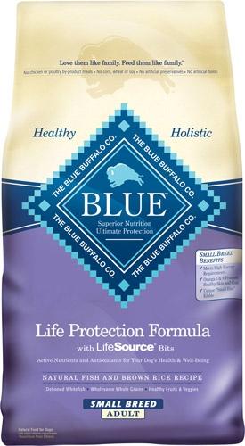 Blue Buffalo Small Breed Fish/Brown Rice Dog 15#