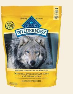 Blue Buffalo Wilderness Healthy Weight Chicken Dog 4.5# C=4