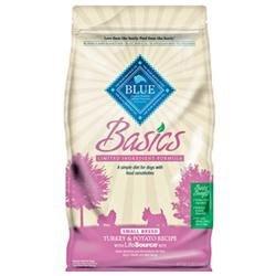 Blue Buffalo Basics Small Breed Turkey Dog 4# C=6