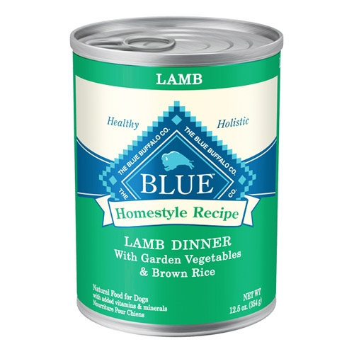 Blue Buffalo Homestyle Recipes  Lamb Dog 12/12.5OZ