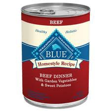 Blue Buffalo Homestyle Recipes  Beef Dog 12/12.5OZ