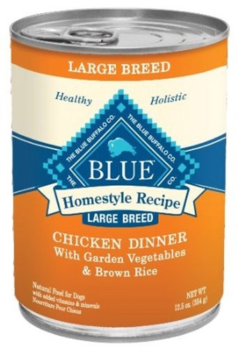 Blue Buffalo Homestyle Recipes  Large Breed Chicken Dog 12/12.5OZ