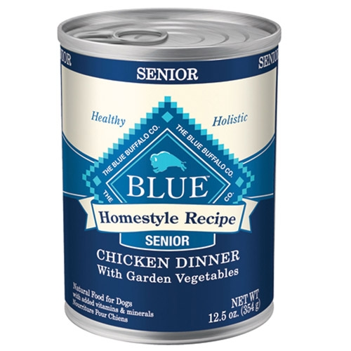 Blue Buffalo Homestyle Recipes  Senior Chicken Dog 12/12.5OZ