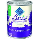 Blue Buffalo Basics Turkey Dog 12/12.5OZ