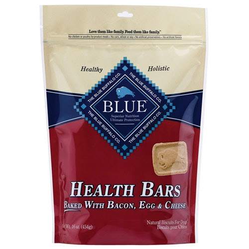 Blue Buffalo Health Bar Bacon Egg Cheese Dog Biscuits 16OZ