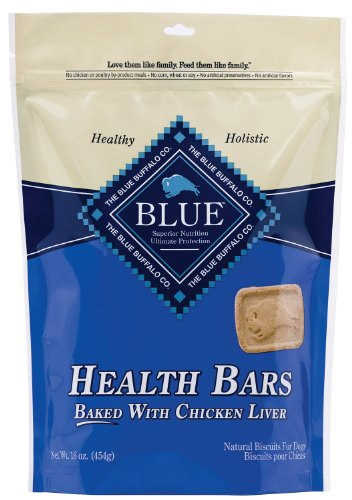 Blue Buffalo Health Bar Chicken/Liver Dog 16OZ