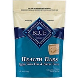 Blue Buffalo Health Bar Fish/Sweet Potato Dog 16OZ C=12
