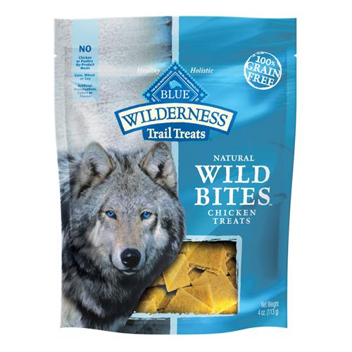 Blue Buffalo Wild Bites Chicken Dog 4OZ