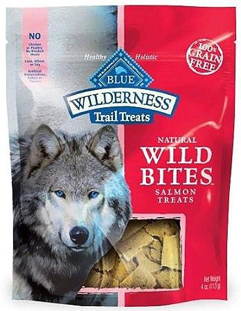 Blue Buffalo Wild Bites Salmon Dog 4OZ