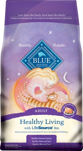 Blue Buffalo Adult Chicken/Brown Rice Cat 7# C=4