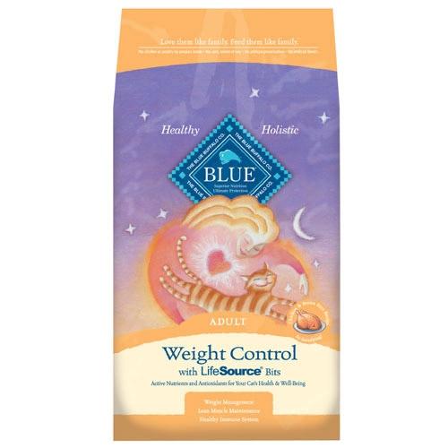 Blue Buffalo Weight Control Chicken/Brown Rice Cat 3# C=5