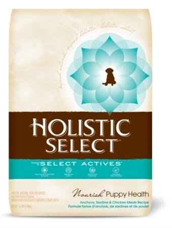 Holistic Select Nourish Puppy Health Anchovy, Sardine & Chicken Meals Recipe 6/6 lb.