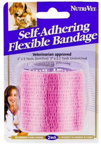 2-in Pink Self-Adhering Flexible Bandage