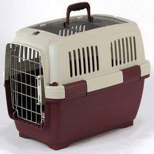 Marchioro Aran3 Cat Carrier Wine/Beige Large