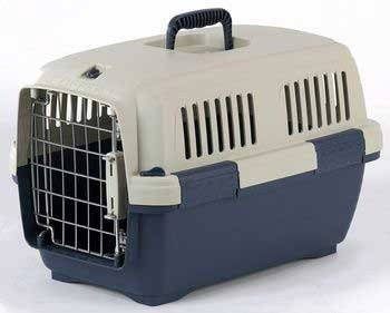 Marchioro Cayman1 Pet Carrier Blue/Beige Small