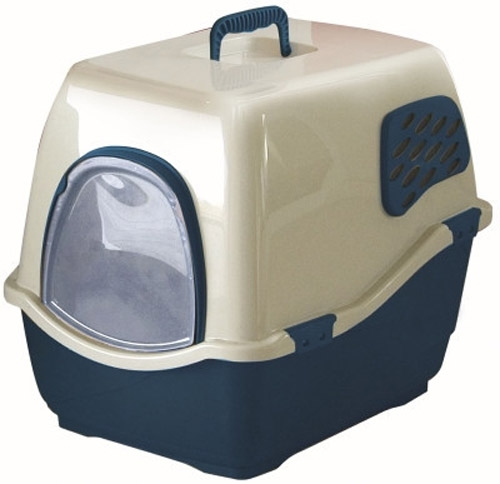 Marchioro Bill1F Deluxe Enclosed Cat Pan Large