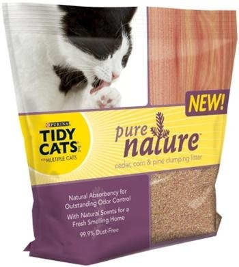Tidy Cats Pure Nature Scoop 6/7.5# Case
