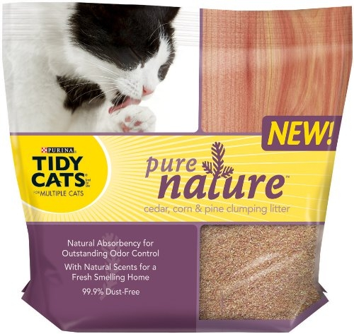 Tidy Cats Pure Nature Scoop 3/14# Case
