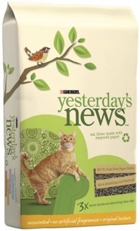 Yesterday's News Cat Litter 6/5 lb.