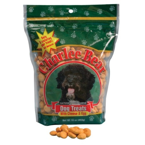 Charlee Bear Cheese & Egg Dog Treats - 16 oz. *Each